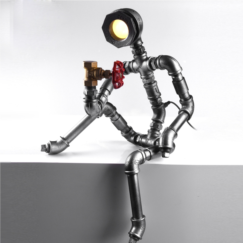 Aliexpress.com : Buy Robot Light Modern Industrial Pipe