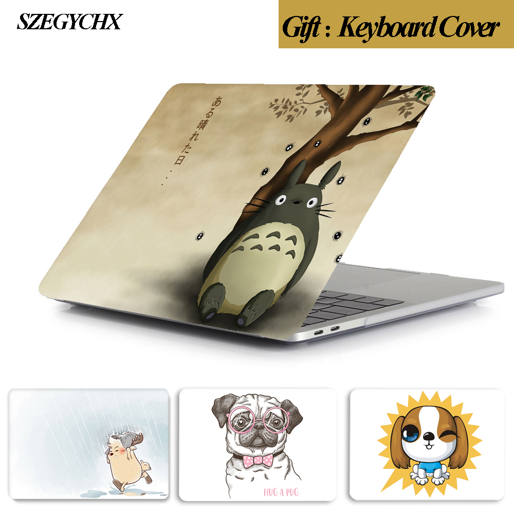Laptop Case For Apple MacBook Air Pro Retina 11 12 13 15 13.3 inch New touch bar for <font><b>mac</b></font> book New Air 13 A1932 2018 case image