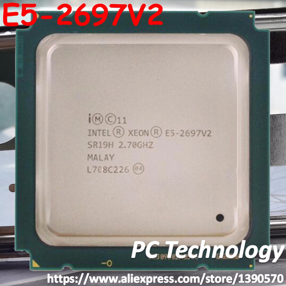 Original Intel Xeon Processor E5 2697V2 Official Version E5 2697 V2 12 CORE 2 7GHZ 30MB
