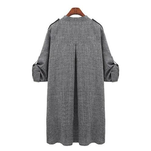 HTB10lJgB2iSBuNkSnhJq6zDcpXao New Fashion Autumn Spring Women Jackets Open Front Coat Long Cloak Jackets Overcoat Waterfall Cardigan Female Blusas