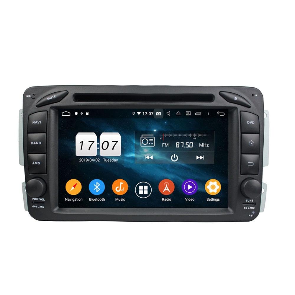 Android 9.0 Octa huit Core pour Benz W163/W209/W203/W170/W210/W168 PX5 lecteur DVD de voiture dvd multimédia Navigation GPS Auto radio DVD