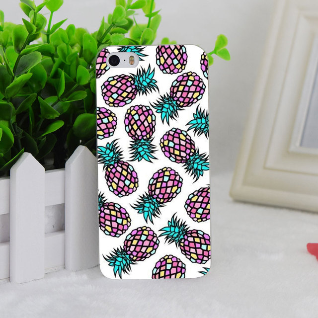Très A0724 Pineapple Tumblr Background Transparent Hard Thin Case Cover  WI22