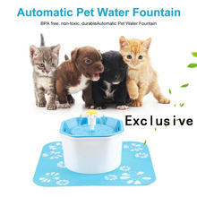 Automatic Cat Water Fountain Electric Water Dispenser Drink Filter Pet Drinking Fountain Drinker new 2 5l automatic electric cat dog pet water fountain pet water feeder drink bowl drinker filter cat water dispenser