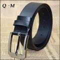 High Quality Fashion Cowskin Men Belts Genuine Leather Ceinture Designer Belts For Men Pin Buckle Casual Belt Trouser Strap Male