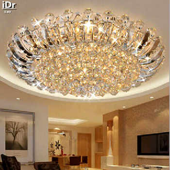 Contemporary luxury crystal ceiling circular living room lights LED lighting Bedroom Ceiling Lights  100% quality guarantee - DISCOUNT ITEM  60% OFF All Category