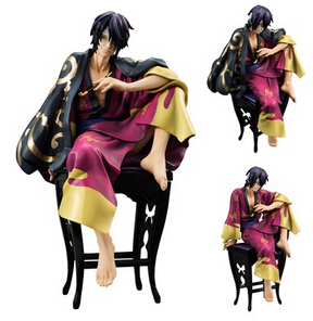 Hot ! NEW 16cm GINTAMA Takasugi Shinsuke action figure toy Christmas gift doll collectors new hot 19cm gintama kagura leader action figure toys collection doll christmas toy with box