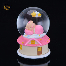 Christams Gifts Home Decoration Music Box Pink Romantic Holiday Souvenirs for Girl Friend's Best Souvenirs