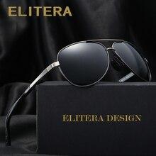Elitera алюминиево-магниевый марка поляризованных солнцезащитных очков мужчины new дизайн рыбалка вождения солнцезащитные очки очки gafas óculos де...(China (Mainland))