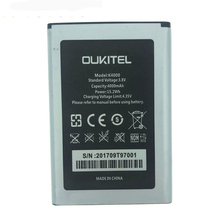 In Stock NEW 100% Original 4000mAh Battery For Oukitel K4000/K 4000 lite Mobile Phone Replacement + Tracking Number