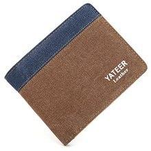 Guapabien Neue Design Geldbörsen Kreditkarte ID Kartenhalter Brieftaschen Brief Öffnen Horizontale Leinwand Brieftasche Geldbörsen herren Brieftaschen
