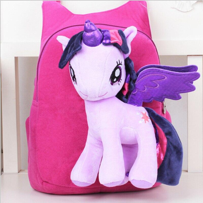 Новый бренд высокое качество милые 3D мультфильм Плюшевый Рюкзак Детская сумка мультфильм школьная сумка для детей портфель