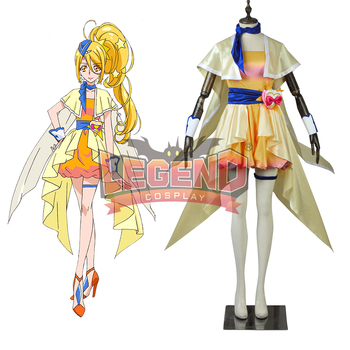 Hugtto Pretty Cure Cure Etoile Kagayaki Homare cosplay costume dress outfit custom size