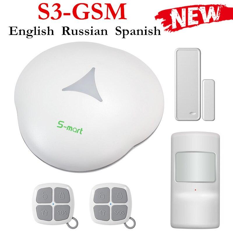 bilder für Fuers Smart Home S3 GSM Alarmanlagen APP Steuer Wireless Gerät Alarm Home kit Einbrecher Detektor Sensor Alarm System