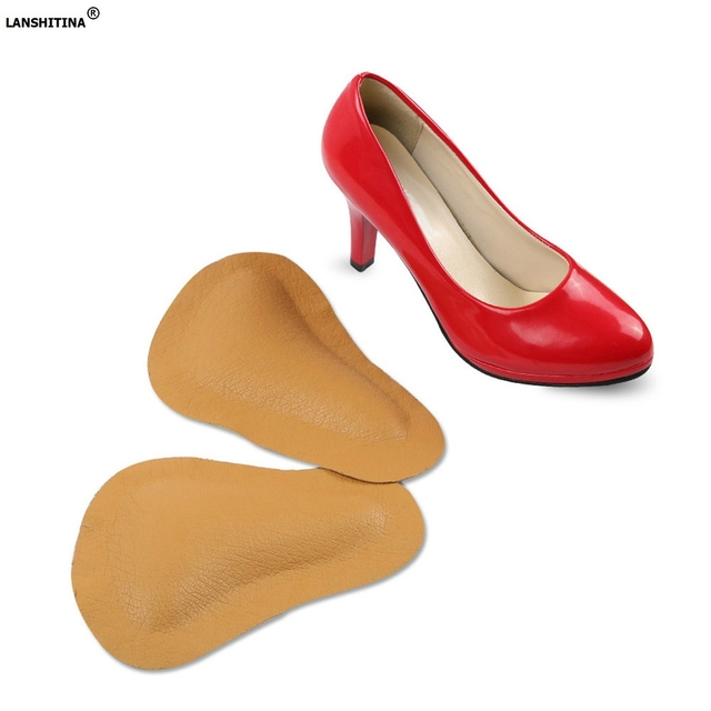 Leather Shoes Insoles Arch Support Orthopedic Insoles No Slip Shoe