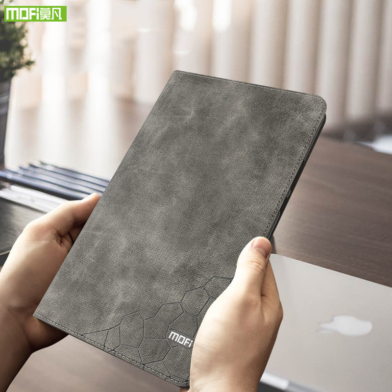 Mofi for iPad 9.7 Case 2017 2018 Silicone Soft Back Slim PU Leather Smart Cover Auto Sleep / Wake Up A1822 A1823 A1893 A1954