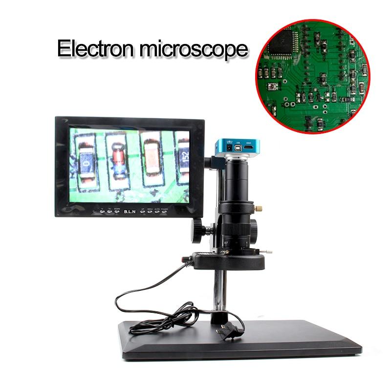 16MP HDMI 1080P 60 frames Digital Industry Video industrial camera Microscope TF card remote control 4K video recording