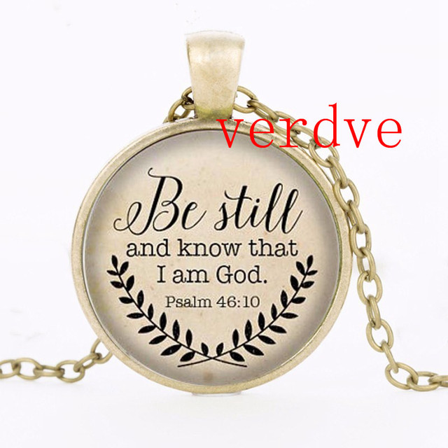 Bible Verse Necklace Still...