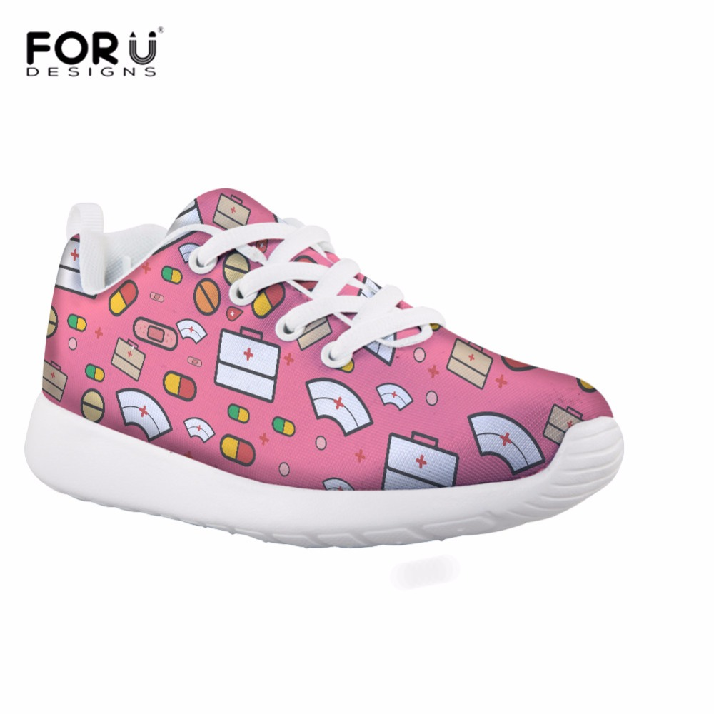 In Design; Doginthehole Sport Womens Swing Shoes Mixed Color Pattern Height Increasing Running Shoes For Girls Outdoor Mesh Female Sneaker Novel