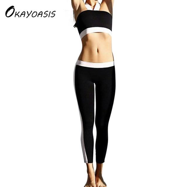 b551458198b437 OKAYOASIS 2017 Summer Women Leggings Hot Sale Fitness Legging Fashion New  Slim Clothing