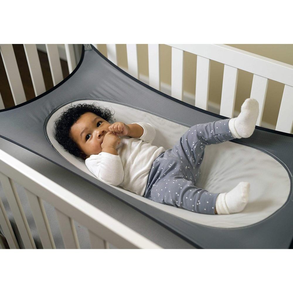 Infants Hammock Baby Home Garden Swings Cartoon Detachable Adjustable Protable Folding Crib Cotton Newborn Sleeping Bed Outdoor