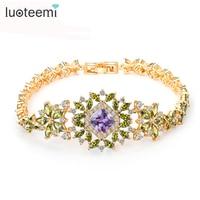 Teemi Best Friend Bracelet Platinum Plated Bracelet For Women AAA Cubic Zircon Crystal High Quality Charm