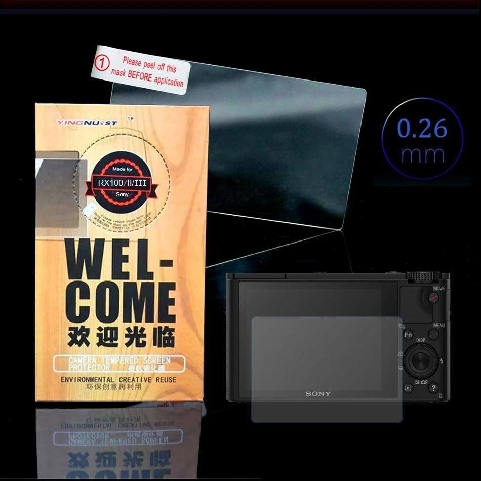 VULCAN Glass Screen Protector Sony RX-100 III  LCD Tough Anti Scratch Cover