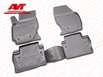 Alfombrillas para Volvo XC70 2007-4 Uds. Alfombras de goma antideslizantes accesorios de diseño para interiores de automóviles