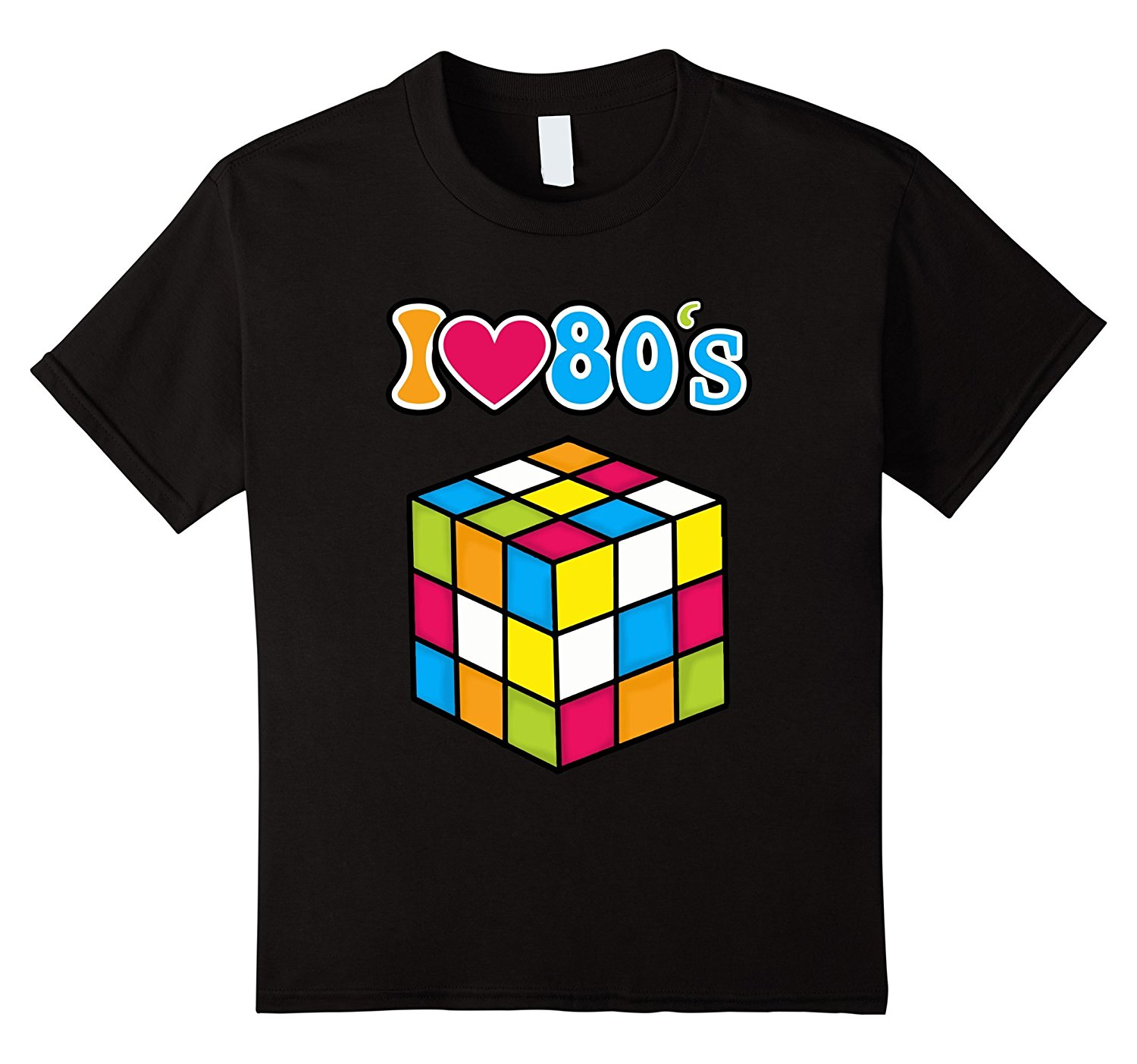 I Love The 80s Eighties Disco Gaming 80s Kids T-Shirt ...
