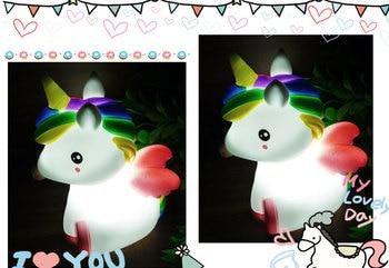 Colorful Unicorn Night Light