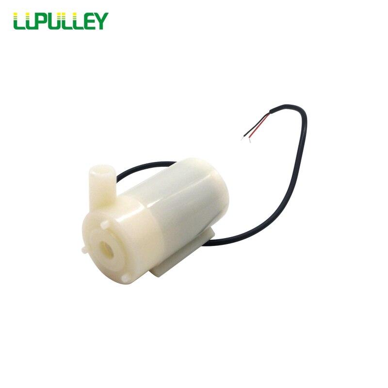 Ehrlich Lupulley Mini Micro Tauch Wasserpumpe 1,2-1.6l/min Dc 3 V-5 V Geräuscharm Bürstenlosen Motor Pumpe Für Solar Wasser Bewässerung 100% Garantie