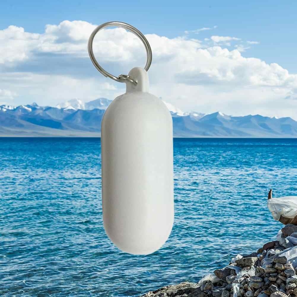 Float keychain Fender Buoyant Key Ring Floating Keyring Marine Sailing Boat Float Canal Keychain Fathers Day Boyfriend Gift