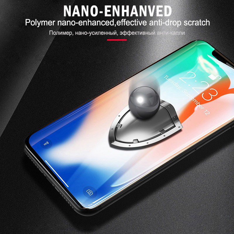 competitive price 636c1 aed55 US $2.89 30% OFF|6D 9H Tempered Glass For Vivo V9 Full Cover Screen  Protector Film For Vivo V71 V81 V97 V11 Pro X20 X21 X23 Nex Protective  Glass -in ...