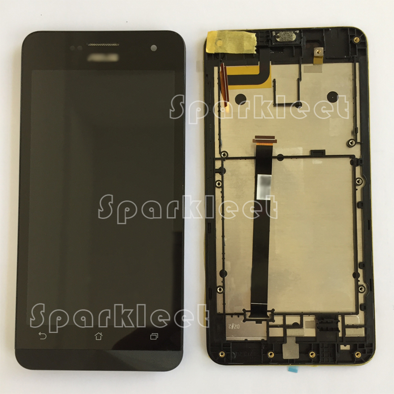 Подробнее о LCD with Frame Touch Screen Digitizer Assembly Replacement Part For Asus Zenfone 5 A500CG A500KL A501CG  Free Shipping Black black replacement part for asus zenfone 4 lcd display and touch screen digitizer assembly 1pc lot free shipping