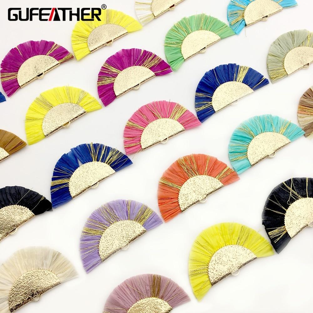 GUFEATHER L186,tassels,jewelry Accessories,grass Tassel,jewelry Findings,hand Made,jewelry Making,raffia Tassels,diy Earrings