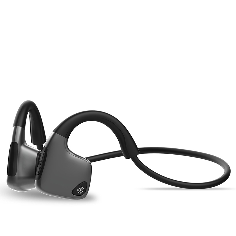 2019 Hot sale Bone Conduction wireless  headphone  with mic For Running PK AfterShokz Trekz Air Lowest price(China)