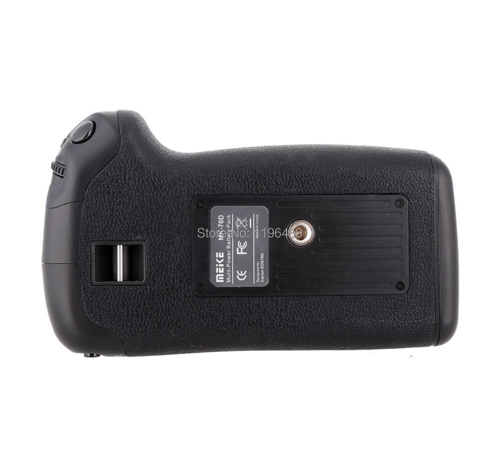 MEKE Meike verticale batterijhouder voor Canon EOS 70D-camera, - Camera en foto - Foto 4