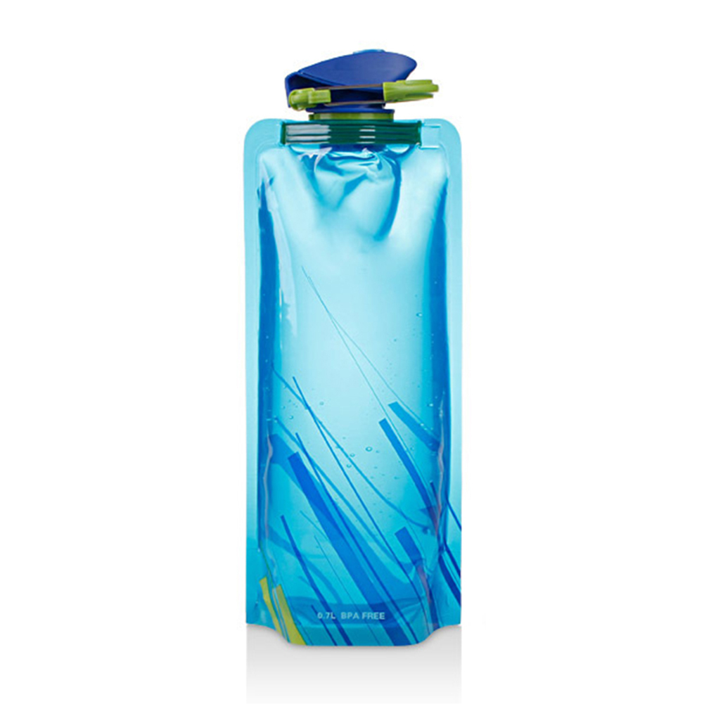 HTB10lNmBhuTBuNkHFNRq6A9qpXaY Reusable 700mL Sports Travel Portable Collapsible Folding Drink Water Bottle Kettle Outdoor Sports Water Bottle BPA free