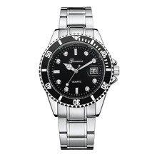 GONEWA Marque Hommes mode casual montres Militaires En Acier Inoxydable Date Sport Quartz Analogique Montre-Bracelet Hommes