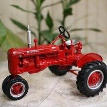 1:16 сплав трактор модели, высокая моделирования Американский фермер, металлические литья, Детские игрушечные транспортные средства