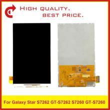 10 ชิ้น/ล็อต ORIGINAL สำหรับ Samsung Galaxy แนวโน้ม S7562 GT S7562 GT S7560 S7560 GT S7560M S7560M หน้าจอ Lcd s7560 Pantalla