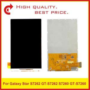 Image 1 - 10 adet/grup Için ORIJINAL Samsung Galaxy Trend S7562 GT S7562 GT S7560 S7560 GT S7560M S7560M lcd ekran Ekran s7560 Pantalla