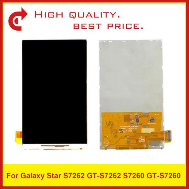 10 adet/grup Için ORIJINAL Samsung Galaxy Trend S7562 GT S7562 GT S7560 S7560 GT S7560M S7560M lcd ekran Ekran s7560 Pantalla