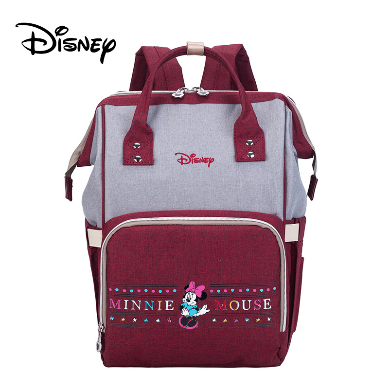 Disney Mickey Minnie Diaper Bags Stroller Handbag Travel Backpack Large Capacity Mummy Maternity Nappy Bag Baby CareDisney Mickey Minnie Diaper Bags Stroller Handbag Travel Backpack Large Capacity Mummy Maternity Nappy Bag Baby Care