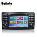 Beiinle Coche 2 Din Unidad Principal de DVD de Radio Estéreo de Navegación GPS jugador para el Benz GL320 GL350 W164 X164 ML300 ML350 ML450 ML500