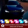4x LED CANBUS Samsung 2835 Чип Габаритные Огни Для vw polo golf 4 5 6 t4 t5 passat b5 b6 CC jetta tiguan аксессуары