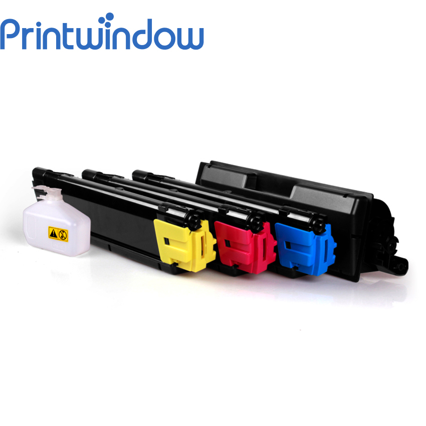 Printwindow Compatible Toner Cartridge TK 590/591/592/593/594 for Kyocera FSC2026MFP/C2026MFP+/C2126MFP/C2526MFP/C2626MFP 4X/Set toner for xerox docuprint205 mfp docuprint cp105 b dp cp 215 mfp dpcm 205 mfp high capacity reset refill cartridge lowest
