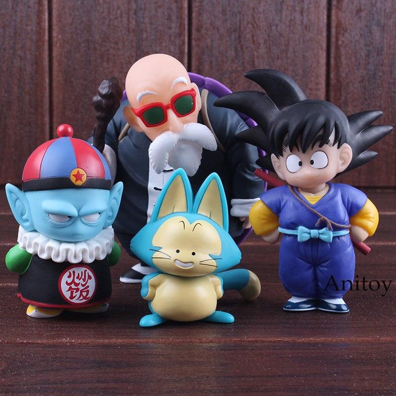 Dragon Ball Figur Set Sohn Goku Gohan Chiaotzu Puar Pilaf Uranai
