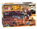 Juguetes para niños de CHINA MARCA 10368 autoblocante ladrillos Compatibles con Lego 75089 Star Wars Troopers Geonosis