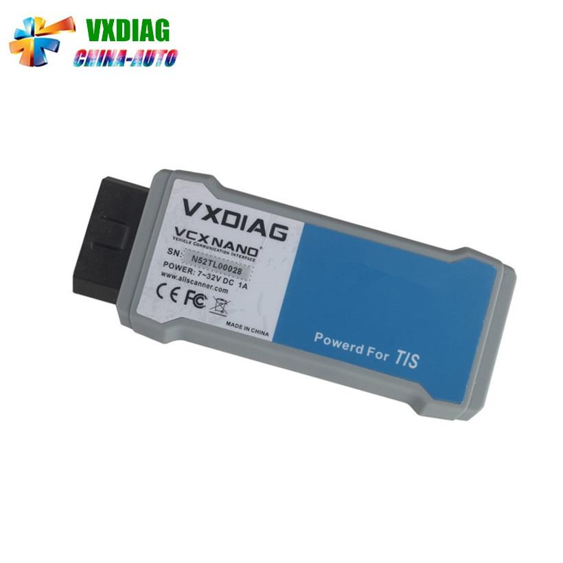 Newest VXDIAG VCX NANO For To yo ta TIS Latest V10.30.029 USB 2.0 Fully compatible With SAE J2534 VXDIAG Scanner