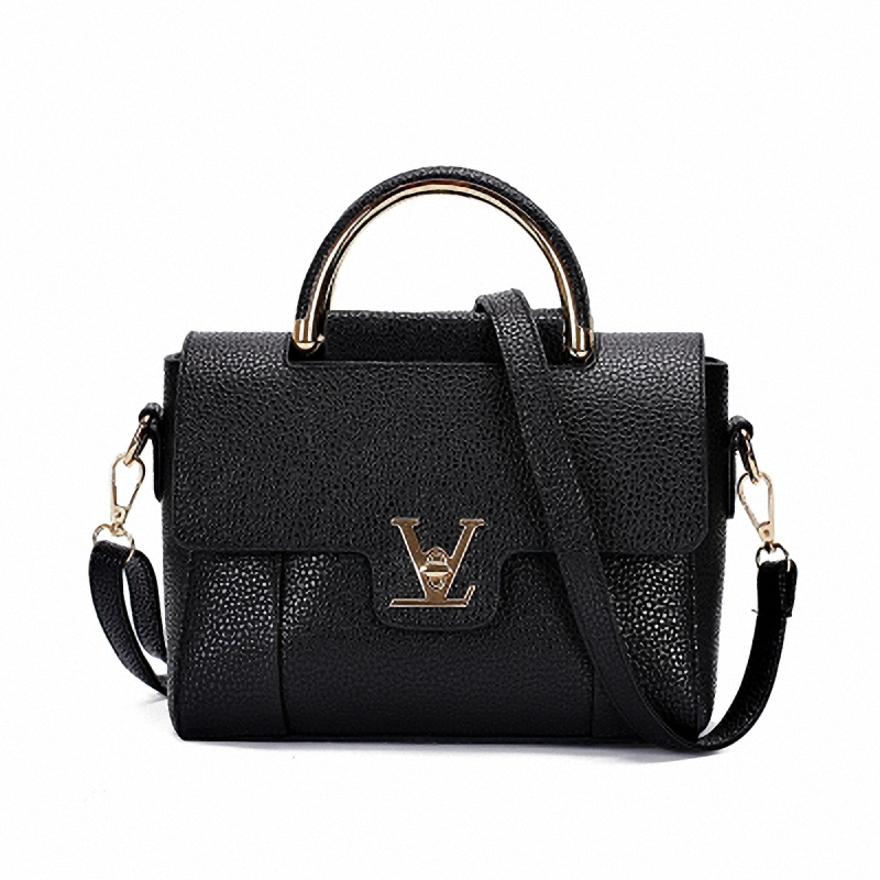 V Letters Saffiano Leather Women's Office Bag - free shipping ...